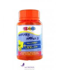 Pediakid Медвежуйки Омега 3 - Omega Gums 3, 60 шт