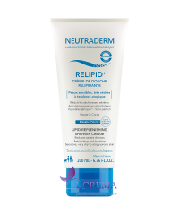 Neutraderm Relipid+ Липидовосполняющий крем-гель для душа - Lipid-replenishing shower cream, 200 мл