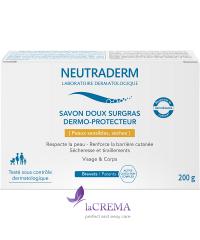 Neutraderm Мягкое мыло - Savons doux surgras Dermo-protecteur, 200 г