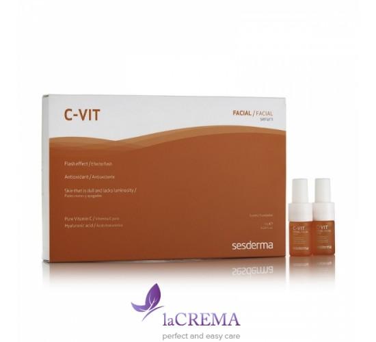 Sesderma C-Vit Реактивирующая двухфазная сыворотка для интенсивного ухода, 5 х 7 мл