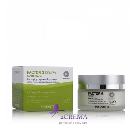 Sesderma Factor G Renew восстанавливающий крем, 50 мл