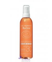 Avene Солнцезащитное масло SPF 30+ Авен, 200 мл