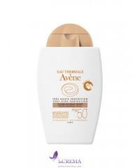 Avene Солнцезащитный тональный минеральный флюид  SPF 50+ Авен, 40 мл
