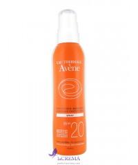 Avene Солнцезащитный спрей Авен - Sun Care SPF 20+ Spray, 200 мл