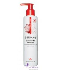 Derma E Средство для умывания с витамином А - Anti-Wrinkle, 175 мл