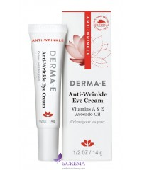 Derma E Крем для кожи вокруг глаз с витамином А против морщин - Anti-Wrinkle, 14 г