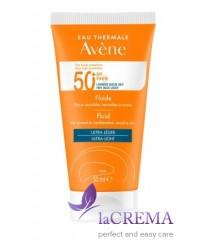 Avene Солнцезащитный флюид SPF 50+ для нормальной и комбинированной кожи Авен , 50 мл