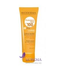 Биодерма Фотодерм Солнцезащитный тональный крем светлый оттенок SPF100 - Bioderma, 40 мл