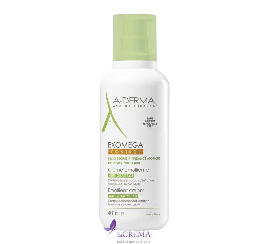 А-Дерма Экзомега Крем для сухой атопической кожи детей и взрослых - Aderma Exomega Control