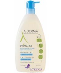 А-Дерма Примальба Гель для душа для атопичной кожи - Aderma Primalba Cleansing Gel