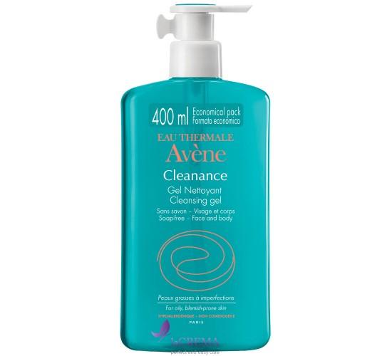 Авен Клинанс Гель для очищения жирной и проблемной кожи - Avene Cleanance, 300 мл