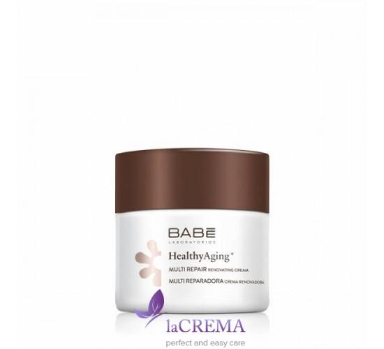 Babe Laboratorios Мультивосстанавливающий ночной крем с антивозрастным комплексом, 50 мл