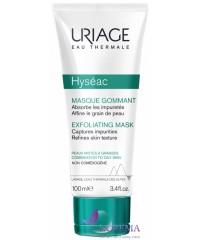 Uriage Исеак Отшелушивающая маска-эксфолиант Hyséac, 100 мл