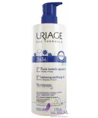 Uriage Baby Очищающее масло - гель для детей Урьяж Huile Lavante, 500 мл