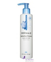 Derma E Средство для умывания с гиалуроновой кислотой, 175 мл