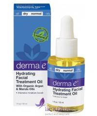 Derma E Увлажняющее терапевтическое масло для кожи лица, 30 мл