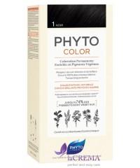 Фито Краска для волос Фитоколор - Phyto Phytocolor №1