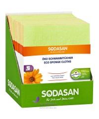 SODASAN Салфетка - губка для влажной уборки, 2 шт