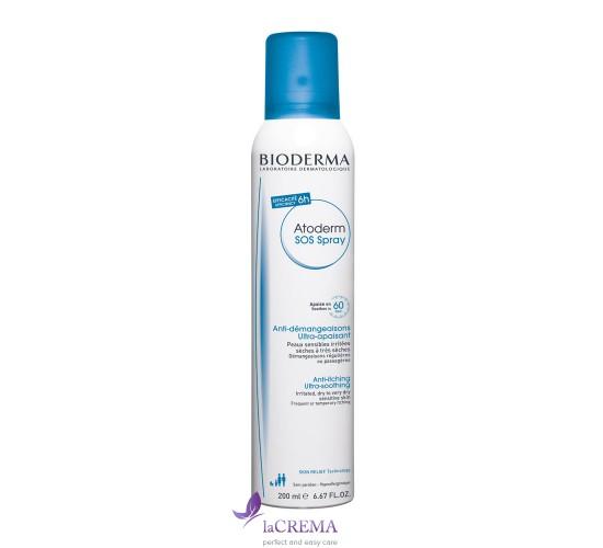 Биодерма Атодерм SOS спрей - Bioderma Atoderm SOS Spray, 200 мл