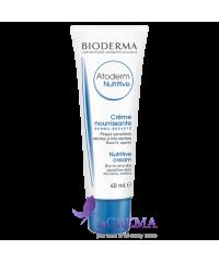 Биодерма Атодерм Питательный бальзам для лица - Bioderma Atoderm, 40 мл