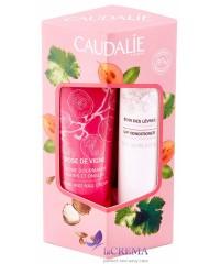 Caudalie Набор LipHand Duo Rose de Vigne: Бальзам для губ + крем для рук