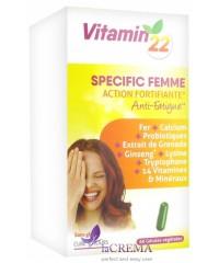 Vitamin'22 Специальный женский комплекс, 60 капсул