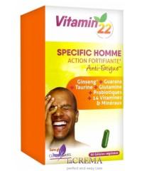 Vitamin'22 Специальный мужской комплекс, 60 капсул
