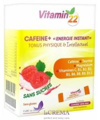 Vitamin'22 Кофеин + Энергия и жизнеспособность, 14 стиков