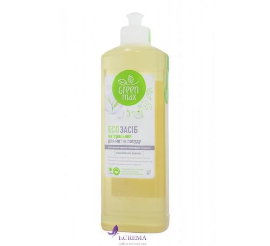 Green Max Натуральное ЕСО средство для мытья посуды