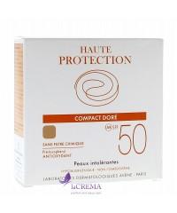Avene Солнцезащитная пудра для лица Haute Protection Compact SPF 50 - Dore, 10 г