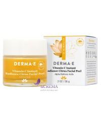Derma E Vitamin C Цитрусовый пилинг для лица, 56 г