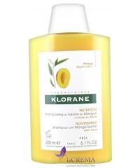 Klorane Питательный шампунь Клоран с маслом манго для сухих и поврежденных волос