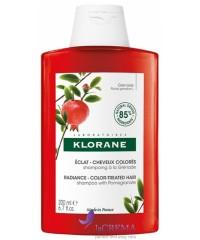 Klorane Шампунь с экстрактом граната для окрашенных волос, 200 мл