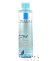 La Roche-Posay Effaclar Очищающая мицеллярная жидкость Эфаклар, 200 мл