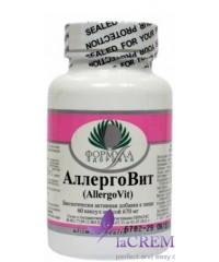 Пищевая добавка АллергоВит, 60 капсул