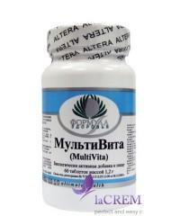 Пищевая добавка МультиВита, 60 таблеток