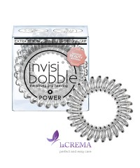 Invisibobble Резинка-браслет для волос Power Crystal Clear, 3 шт