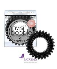 Invisibobble Резинка-браслет для волос Power True Black, 3 шт