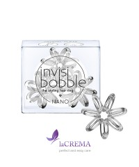 Invisibobble Резинка-браслет для волос Nano Crystal Clear 3 шт
