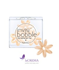 Invisibobble Резинка-браслет для волос Nano To Be or Nude to Be, 3 шт