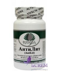 Пищевая добавка АнтиЛит, 60 таблеток