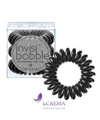 Invisibobble Резинка-браслет для волос Original True Black, 3 шт