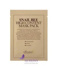 Benton Snail Bee Маска с высоким содержанием муцина улитки и пчелиным ядом