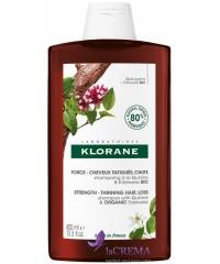 Klorane Шампунь укрепляющий с хинином и витамином В, 400 мл