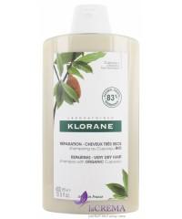 Klorane Шампунь с маслом финика для поврежденных волос, 400 мл