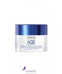 Uriage Age Protect Крем-пилинг для лица ночной- Урьяж Эйдж Протект, 50 мл