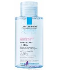 La Roche-Posay Физиологическая мицеллярная вода Ультра для реактивной кожи, 100 мл