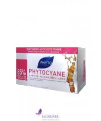 Фито Средство против выпадения волос у женщин Фитоциан - Phytocyane, 12 Х 7.5мл
