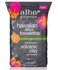 """Альба Ботаника Салфетки детокс очищающие """"Гавайские"""" - Alba Botanica, 30 шт"""