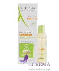 А-Дерма Экзомега Крем для сухой кожи - Aderma Exomega Control, 200 мл + Масло для душа, 100 мл